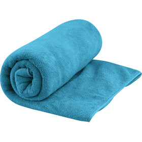 Sea to Summit Tek Serviette pour chien L, pacific blue